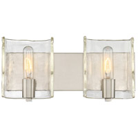 Handel 2 Light 16 inch Satin Nickel Bath Bar Wall Light