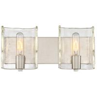 Savoy House 8-9053-2-SN Handel 2 Light 16 inch Satin Nickel Bath Bar Wall Light