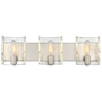 Handel 3 Light 25 inch Satin Nickel Bath Bar Wall Light