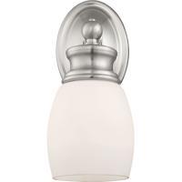 Savoy House 8-9127-1-SN Elise 1 Light 5 inch Satin Nickel Bath Sconce Wall Light