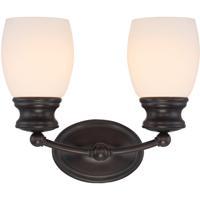 Savoy House 8-9127-2-13 Elise 2 Light 12 inch English Bronze Bath Bar Wall Light