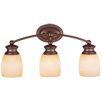 Savoy House Elise 3 Light Vanity Light in Oiled Burnished Bronze 8-9127-3-28