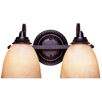 Savoy House Venetian Guild 2 Light Vanity Light in Slate 8-9411-2-25