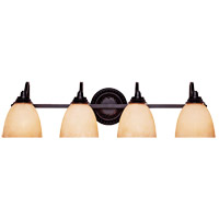 Savoy House Venetian Guild 4 Light Vanity Light in Slate 8-9411-4-25