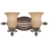Savoy House Florita 2 Light Vanity Light in Silver Lace 8-9733-2-176 photo thumbnail