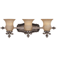 Savoy House Florita 3 Light Vanity Light in Silver Lace 8-9733-3-176 photo thumbnail