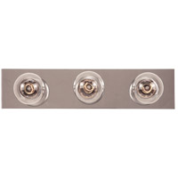 Signature 3 Light 18 inch Chrome Bath Bar Wall Light
