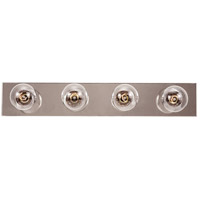 Signature 4 Light 24 inch Chrome Bath Bar Wall Light
