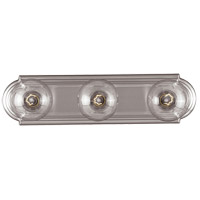 Signature 3 Light 18 inch Satin Nickel Bath Wall Light