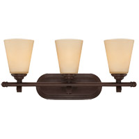 Maremma 3 Light 23 inch Espresso Bath Bar Wall Light