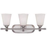 Maremma 3 Light 23 inch Pewter Bath Bar Wall Light