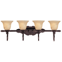 Savoy House 8P-50215-4-16 Knight 4 Light 34 inch Antique Copper Bath Bar Wall Light