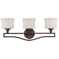 Terrell 3 Light 26 inch English Bronze Bath Bar Wall Light