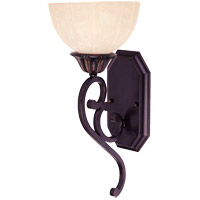 Bedford 1 Light 7 inch Distressed Bronze Sconce Wall Light in Pompei