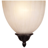 Half Moon 1 Light 7 inch Distressed Bronze ADA Sconce Wall Light in Cream Scavo