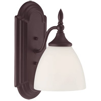 Savoy House Herndon 1 Light Wall Sconce in English Bronze 9-1007-1-13