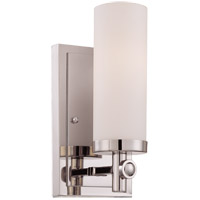 Savoy House 9-1027-1-109 Manhattan 1 Light 5 inch Polished Nickel Sconce Wall Light alternative photo thumbnail
