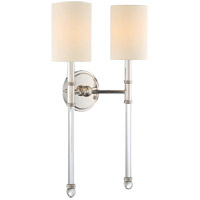 Fremont 2 Light 13 inch Polished Nickel Sconce Wall Light