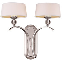 Savoy House Murren 2 Light Wall Sconce in Polished Nickel 9-1040-2-109 photo thumbnail