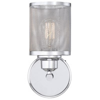 Salvador 1 Light 6 inch Polished Chrome Sconce Wall Light