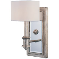 Caracas 1 Light 6 inch Argentum Sconce Wall Light