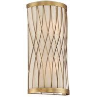 Savoy House 9-113-2-322 Spinnaker 2 Light 8 inch Warm Brass Sconce Wall Light