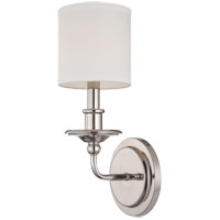 Aubree 1 Light 6 inch Polished Nickel Sconce Wall Light