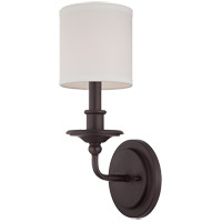Savoy House 9-1150-1-13 Aubree 1 Light 6 inch English Bronze Sconce Wall Light photo thumbnail