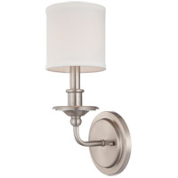 Aubree 1 Light 6 inch Satin Nickel Wall Sconce Wall Light