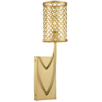 Savoy House Fairview 1 Light Sconce in Rubbed Brass 9-1283-1-325