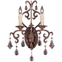 Savoy House Florence 2 Light Wall Sconce in New Tortoise Shell 9-1409-2-56