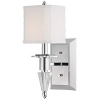 Savoy House Kirra 1 Light Wall Sconce in Polished Nickel 9-153-1-109