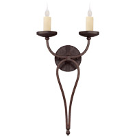 Savoy House 9-2015-2-05 Elba 2 Light 12 inch Oiled Copper Sconce Wall Light