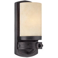 Elba 1 Light 6 inch Oiled Copper ADA Sconce Wall Light in Cream Textured