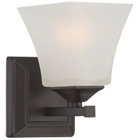 Castel 1 Light 5 inch English Bronze Sconce Wall Light
