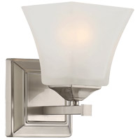 Savoy House Castel 1 Light Sconce in Satin Nickel 9-2099-1-SN