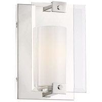 Ridgefield 1 Light 7 inch Polished Nickel Wall Sconce Wall Light