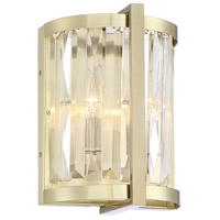 Savoy House 9-2143-2-127 Cologne 2 Light 8 inch Noble Brass Sconce Wall Light