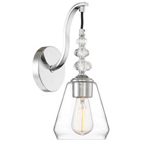 Savoy House 9-2153-1-11 Apollo 1 Light 6 inch Polished Chrome Wall Sconce Wall Light alternative photo thumbnail