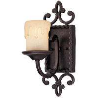 San Gallo 1 Light 6 inch Slate Sconce Wall Light in Cream Scavo Candle