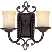 Savoy House San Gallo 2 Light Wall Sconce in Slate 9-2238-2-25