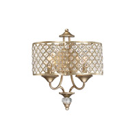 Regis 2 Light 13 inch Pyrite Wall Sconce Wall Light