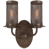 Nouvel 2 Light 10 inch Galaxy Bronze Sconce Wall Light