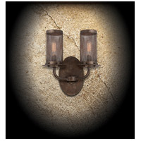 Savoy House 9-2505-2-42 Nouvel 2 Light 10 inch Galaxy Bronze Sconce Wall Light alternative photo thumbnail
