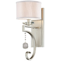 Savoy House 9-256-1-307 Rosendal 1 Light 7 inch Silver Sparkle Sconce Wall Light alternative photo thumbnail