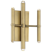 Savoy House 9-2602-6-322 Barnum LED 5 inch Warm Brass Sconce Wall Light