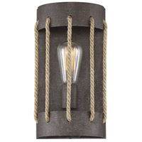 Savoy House 9-2662-1-32 Leland 1 Light 5 inch Artisan Rust Wall Sconce Wall Light