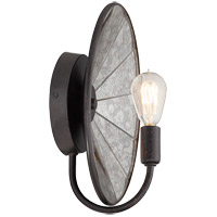 Savoy House Armature 1 Light Wall Sconce in Polished Nickel with Bronze Accents 9-274-1-20
