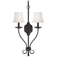 Savoy House Stratford 2 Light Sconce in English Bronze 9-301-2-13
