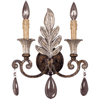 St. Laurence 2 Light 12 inch New Tortoise Shell/Silver Sconce Wall Light